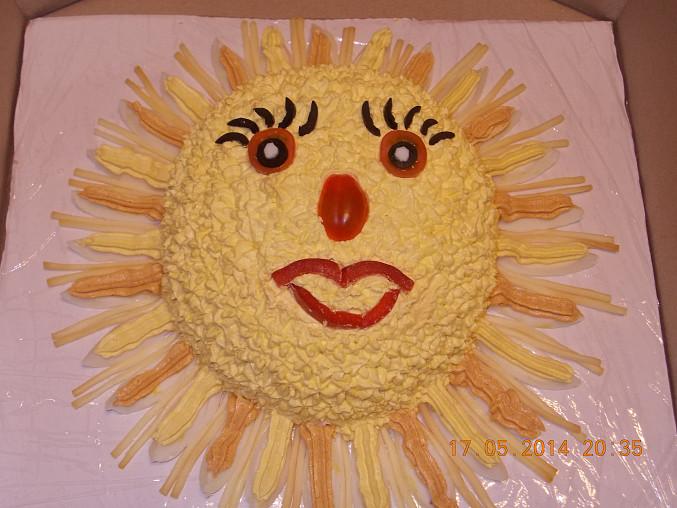 Sluníčko dort