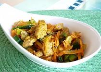 Sojové nudličky se zeleninou
