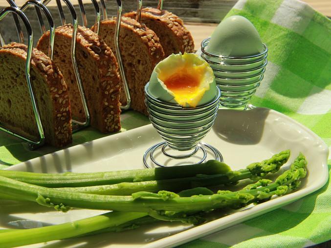 Vajíčko a chřest