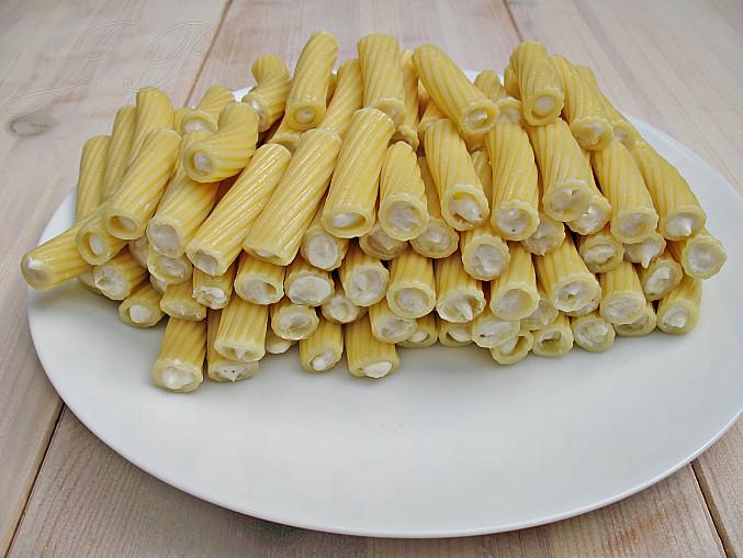 Zapečené plněné tortiglioni