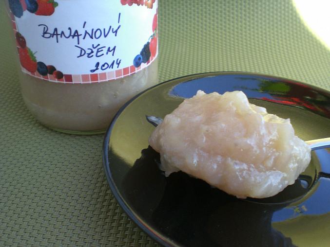 Banánový džem s grapefruitem