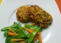 Brokolicové placičky se šmakounem