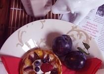Broskvové koláčky z listového těsta