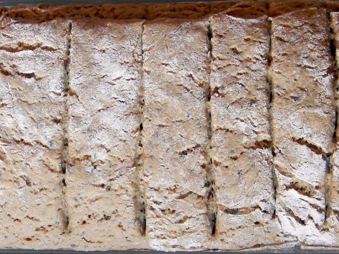Celožitný chlébík s meltou, Nakynulý chléb