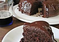 Čokoládová bábovka s pivem