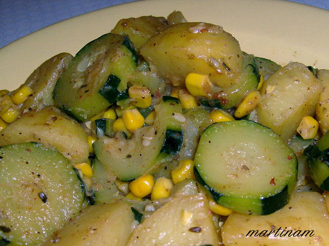 Cuketovo-bramborová rychlovka
