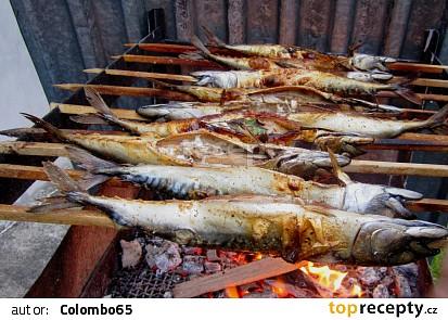 Grilované makrely s libečkem