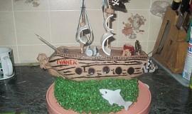 Jak se dělá koráb - sladký dort