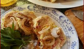 Kapustové knedlíky vařené v mikrovlnné troubě