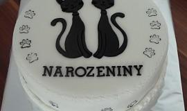 Kočičí dort