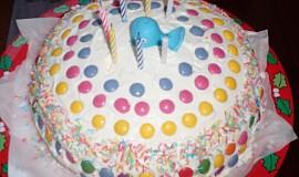 Lentilkový dort pro děti