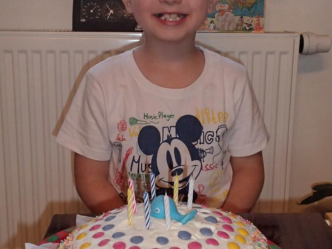 Lentilkový dort pro děti, Náš oslavenec
