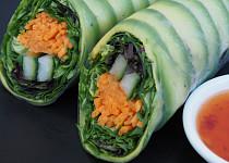 """Letní závitky – """"sushi"""""""
