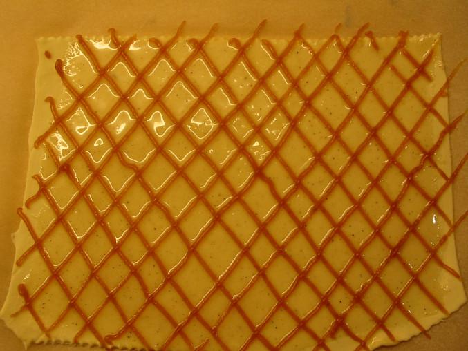 Listové tyčinky s ovocnou glazurou - Sfogliatine Glassate