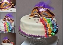 Majálesový dort - za nejlepší masku