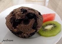 Makové muffiny s borůvkami bez lepku, mléka a vajec