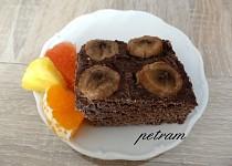 Makový koláč s banánem bez lepku, mléka a vajec
