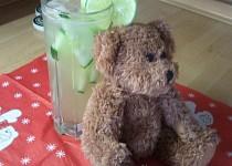Medvědova osvěžující okurková limonáda