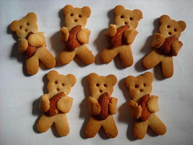 Medvídci s mandličkami