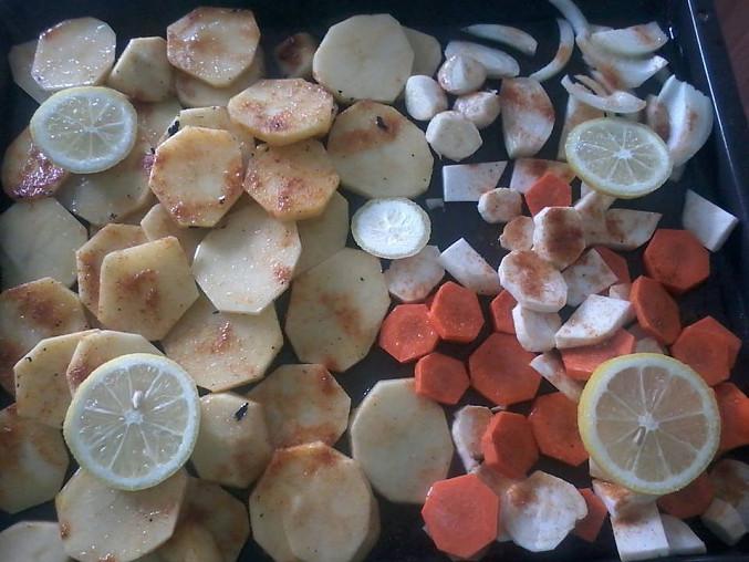 Pecena zelenina
