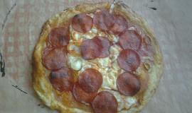 Pizza z pomazánkoveho másla