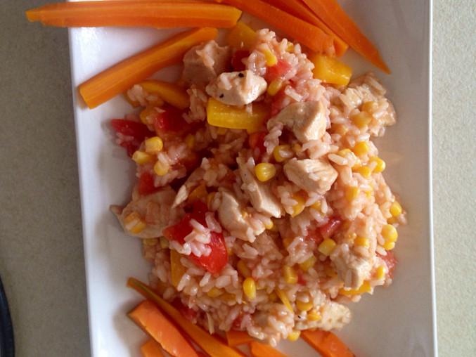Rychlé šťavnaté rizoto