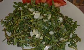 Salát ze šruchy zelné a cibule