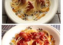 Špagety chobotničky - nejen pro děti