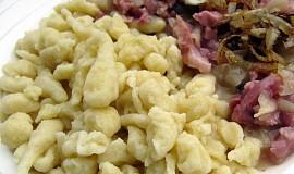 Bavorské špecle - základní těsto  (Spätzle)