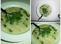 Česneková polévka po provensálsku
