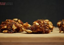 Datlové sušenky s mandlemi