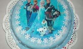 Dort Frozen s jedlým papírem