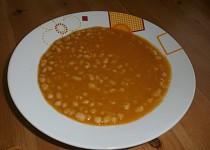 Jednoduchá fazolová polévka