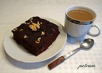 Kakaová buchta aneb pokus o brownies bez lepku, mléka a vajec