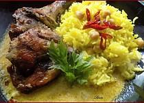 """Kuře """"Arabica"""" s cizrnovou rýží"""
