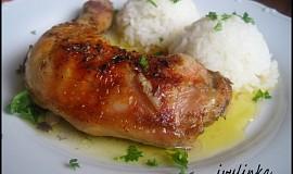 Kuře pečené na másle s kmínem