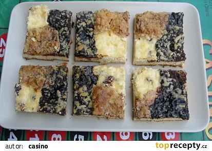 Kynutý koláč - mřížka