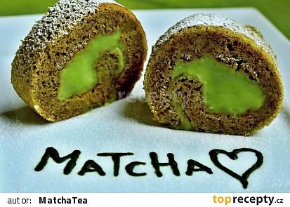 Matcha Tea roláda