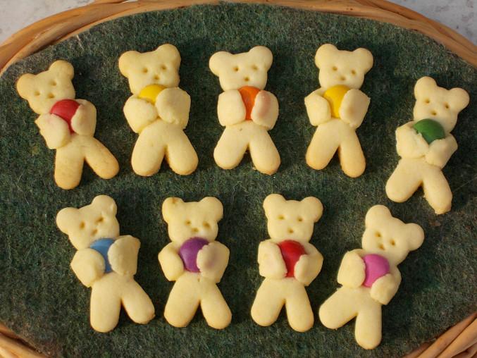 Medvídci s mandličkami, Medvídci s lentilkami
