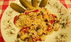 Rýžový wok