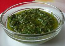 Salsa verde z oblasti Piemonte