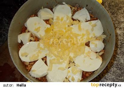 Slaný těstovinový koláč