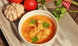 Španělská česneková polévka