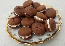 Sušenky Baileys s krémovou náplní