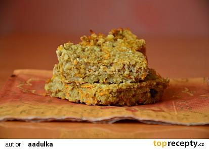 Vločkové kostky s příchutí mrkvového dortu