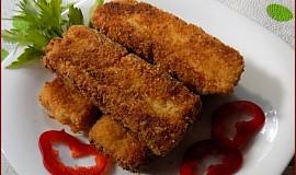 Zeleninové prsty s uzeným sýrem