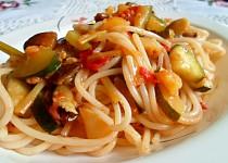 Zeleninové špagety