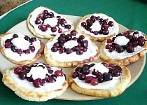 Bramborové placičky s ovocem