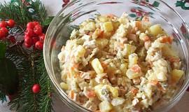 Bramborový salát - odlehčený se šmakounem