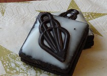 Kakaové slepované cukroví